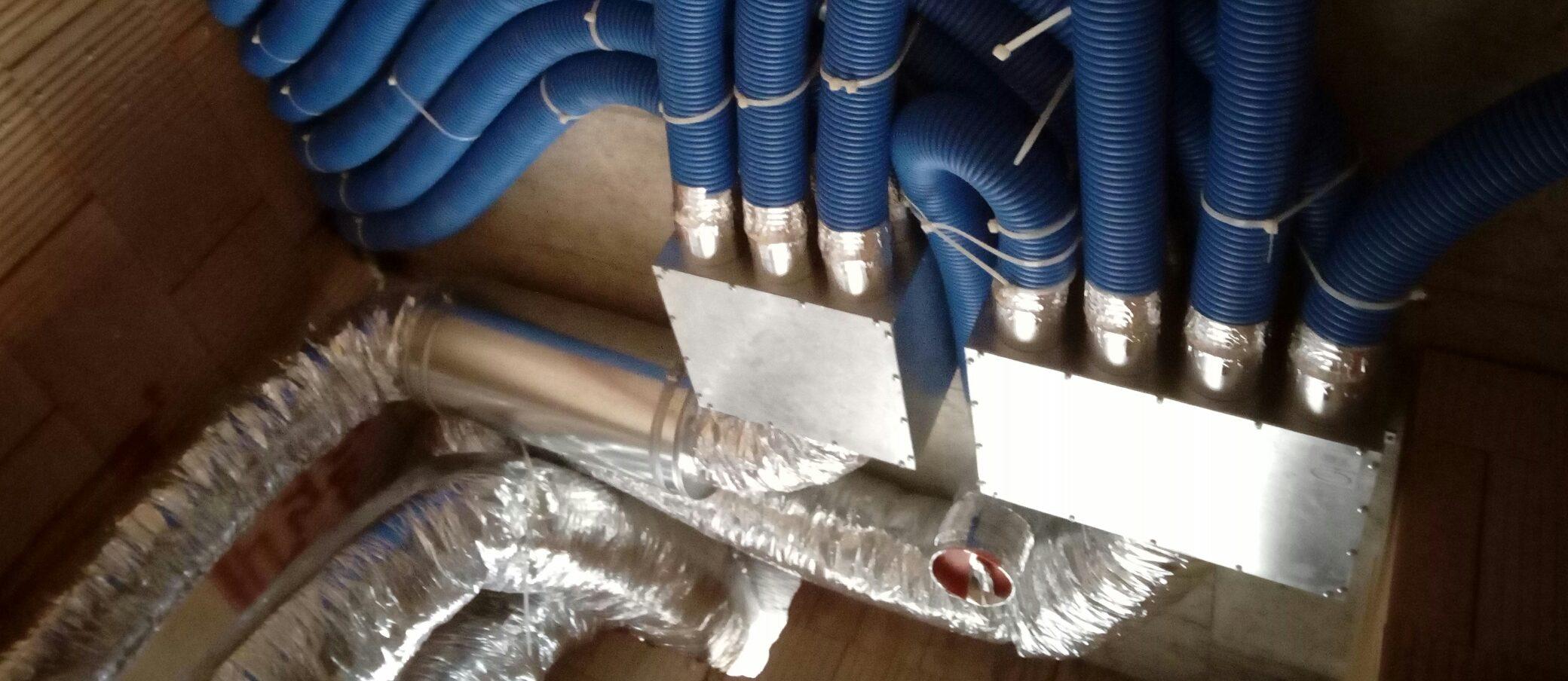 I svépomocí lze správně a odborně instalovat větrací rekuperační jednotku