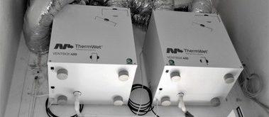 Řešení radonové zátěže řízeným větráním – bytové domy Radotín